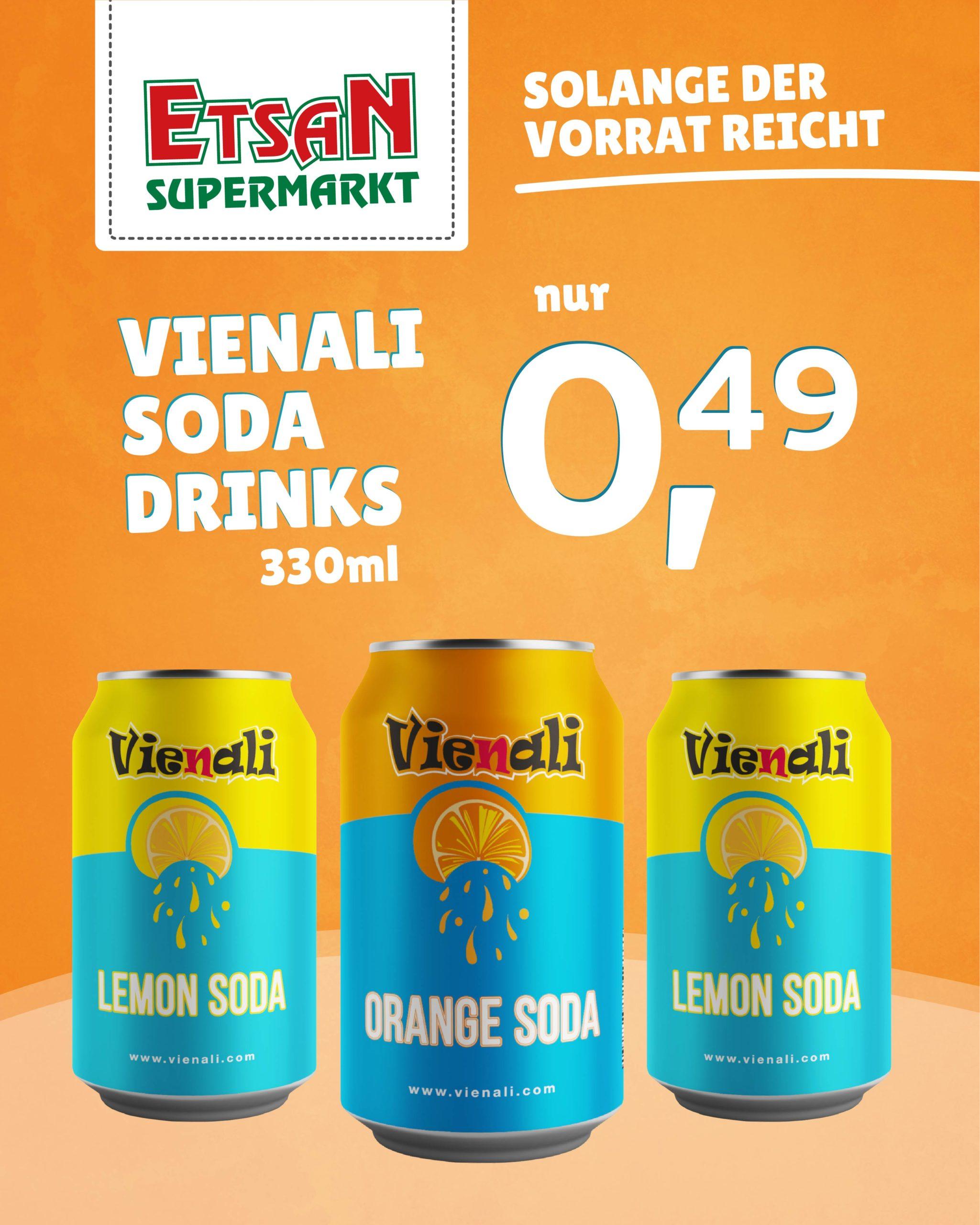 Vienali Soda - Etsan Supermarkt